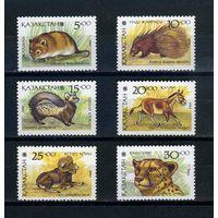 Казахстан, 1993г. звери, 6м.