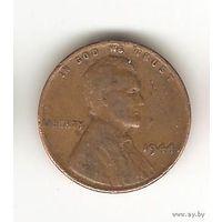 1 цент 1944 США