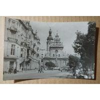 Львов. Площадь Даниила Галицкого. 1950-е. Чистая