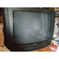 Телевизор ламповый Горизонт нерабочий на запчасти