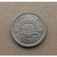 Португальская Гвинея, 2,5 эскудо 1952 г.