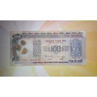 Индия 100 рупий  1970-1998гг.