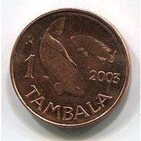 (A3) МАЛАВИ - ТАМБАЛА 2003 UNC