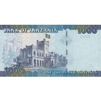 Танзания 1000 шиллингов 2010 года (UNC)