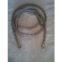 Шланг смесителя армированный (95 см и 145 см) Цена за 2 штуки