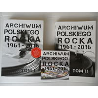 Рок-энциклопедия Archiwum Polskiego Rocka 1961-2016 - в 2-х томах (606 + 542 стр, ч/б иллюстрации) + DVD