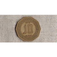 Алжир 10 динаров  1979  //(GB)/