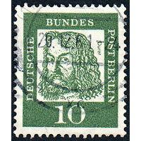 117: Германия (Западный Берлин), почтовая марка, 1961 год