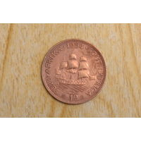 Южная Африка 1 пенни 1954