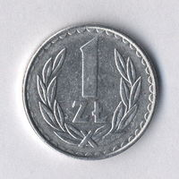 Польша, 1 злотый 1988 г.