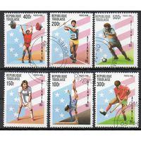 Спорт Того 1996 год серия из 6 марок