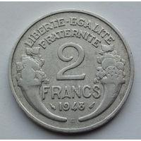 Франция 2 франка. 1948. В