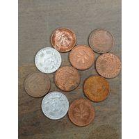 Пфеннинги, монеты Германии