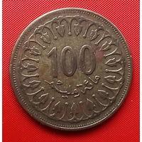 56-11 Тунис, 100 миллимов 1983 г.