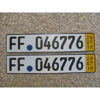 Автомобильный номер Германия FF046776