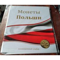 """Альбом-папка для монет """"Монеты Польши"""". Формат Оптима."""
