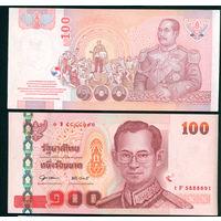Тайланд 100 бат UNC
