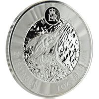 Каймановы о-ва 1 доллар 2018 серебро (1 oz) (в капсуле)