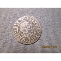 Пруссия герцогство Альберт II 1535 г.ГРОШ