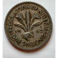 Нигерия 1 шиллинг, 1962 1-8-34