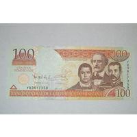 Доминиканская республика(Доминикана) 100 песо образца 2011 года XF p184b