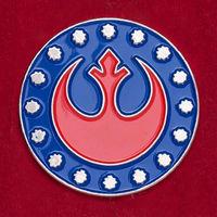 """Значок для фанатов Звездных войн """"Звездная птица Альянса"""""""