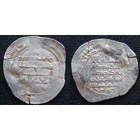 YS: Аббасиды, Багдадский халифат, Аль-Муктадир, 10 век, 1 дирхам 908-932 (295-320AH), серебро