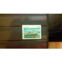 Транспорт, корабли, флот, марка, Бразилия, 1985