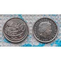 Каймановы острова 10 центов. Морская черепаха. Инвестируй выгодно в монеты планеты!