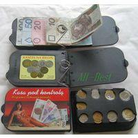 Монетница универсальная с отсеком для банкнот. распродажа