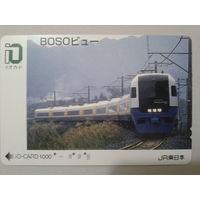 Япония поезд 1000