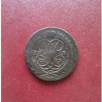 2 копейки Елизаветы 1-й  1758 г. Российская Империя (Сахран люкс, оригинал)