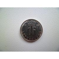 1 франк Люксембург 1988 года