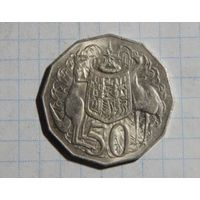 Австралия 50 центов 1969