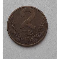Польша 2 злотых 1988