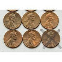 1 цент США 1984 D. Поштучно