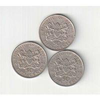 50 центов 1974 года Кении