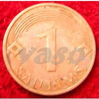 7225:  1 сантим 2003 Латвия