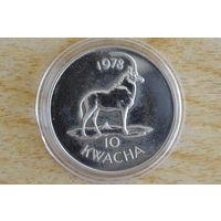 Малави 10 квача 1978