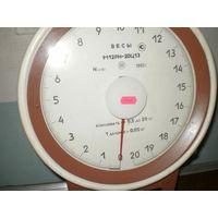 Весы циферблатные до 20кг.модель 9112РН-20Ц13.