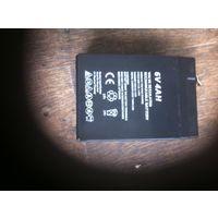 Небольшой аккумулятор 6V4AH размером 9,7х7х4,5 см