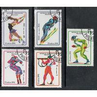 Мадагаскар 1991. Зимние олимпийские игры.