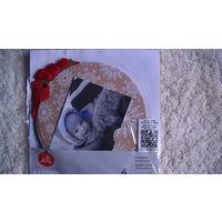Новогодние карточки на ёлку для пожеланий и фото 4 шт. распродажа