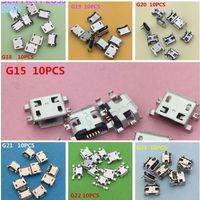 Мини USB разъемы 13 видов по 1шт