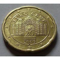 20 евроцентов, Австрия 2009 г.