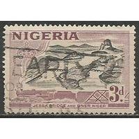 Нигерия. Река Нигер. 1953г. Mi#76.