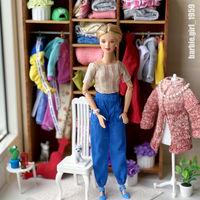 Барби мебель шкаф