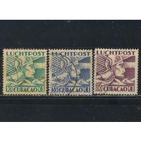 NL Колонии Кюрасао (Нидерландские Антиллы) 1931 Авиа Меркурий #108,113,117