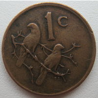 ЮАР 1 цент 1980 г.