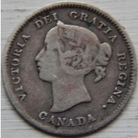 15. Канада 5 центов 1899 год, Виктория*